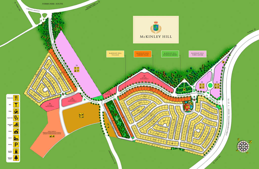McKinley Hill Vilage Prime Lot