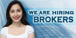 We Are Hiring Brokers