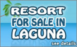 resort for sale in laguna