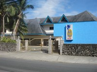 Blue Palm Resort's Entrance